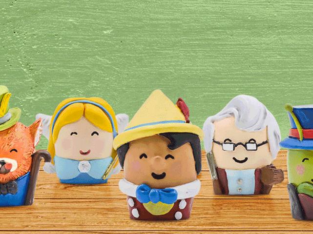 Ecco i Pinocchini, ispirati al celebre romanzo per ragazzi.